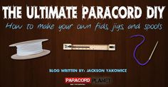 """[NEW BLOG]: """"The Ultimate Paracord DIY"""" Learn how to expand your paracord crafting by making your own fids, jigs, and spools! Have any other paracord tools that you have made yourself?! Show us below. #HappyCording http://paracordplanet.blogspot.com/2015/06/the-ultimate-paracord-diy.html #paracord #jig #fid #spool #diy #howto #tying #knotting #crafting #project #handmade #homemade #craft #crafters"""
