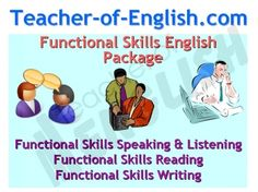 English Functional Skills teaching resources package - 281 slide Powerpoint and 70 worksheets
