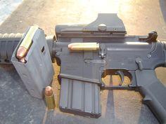 AR-15 .50 Beowulf