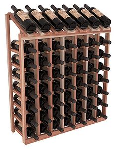 Wine Racks America Redwood 7 Column 8 Row Display Top Kit 13 Stains to Choose From -- For more information, visit image link. (This is an affiliate link) #WineRackeCabinets