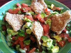 Recetas de comida mexicana.: Salsa- pico de gallo