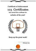 Printable basketball award certificate download free files in pdf free printable basketball certificate templates basketball award certificates basketball certificates to print for kids yelopaper Gallery