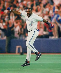 Greatest sports moments: Winning home run for the Toronto Blue Jays - World Series 1993 Toronto Blue Jays, Blue Jays World Series, Mlb Teams, Sports Teams, American League, Go Blue, Sports Pictures, Cool Countries, World Championship