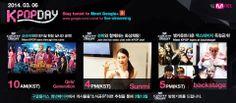 [HANGOUT] 140306 MCountdown Hangout Cam - Girls' Generation (소녀시대), Sunmi (선미) & MCD BACKSTAGE | K-POP STREAM ONLINE