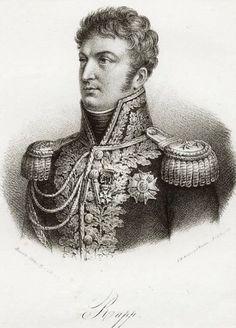 Jean Rapp aide de camp de Napoléon Bonaparte