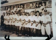 "aagpbl memorabilia | the popular movie ""A League of Their Own"" is seen on a memorabilia ..."