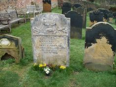 Grave of Anne Bronte in Scarborough