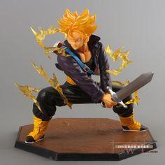 Super Saiyan Trunks Figure 3D Toy