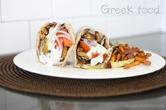 Vegan Greek Tempeh Gyros | www.veggiesdontbite.com | #vegan #plantbased