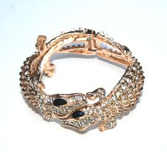 Gold alligator bracelet, perfect for gator gamedays! $40 www.dianaekelly.com
