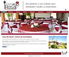 Cliente Casa del Rosal - www.casadelrosal.com Table Decorations, Furniture, Home Decor, Activity Centers, Rose Trees, Events, Houses, Decoration Home, Room Decor