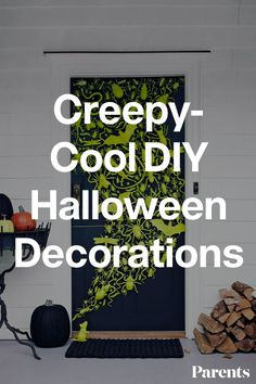 Want a halloween themed house this year? Decorate with these DIY decorations that your kids will love. #halloween #familyhome