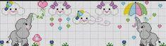 Rosana Silveiraa's media content and analytics Cross Stitch For Kids, Cross Stitch Baby, Cross Stitch Animals, Counted Cross Stitch Kits, Cross Stitch Charts, Cross Stitch Patterns, Elephant Cross Stitch, 3d Perler Bead, Canvas Designs