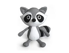 Sewing pattern Raccoon plush PDF by DIYFluffies on Etsy https://www.etsy.com/listing/256889867/sewing-pattern-raccoon-plush-pdf