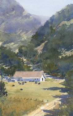 """Michael Reardon    Canyon 18"""" x 11"""" 5 August 2016"""