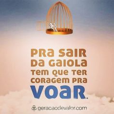 Bom dia! #fly #bomdia #goodmorning #acreditar #voar #saidagaiola #determinacao #believe #followme #follow #frases #reflexao #lifeisgood #livethelife #happyness #smile #quintaflower #quintafeira #falta1dia