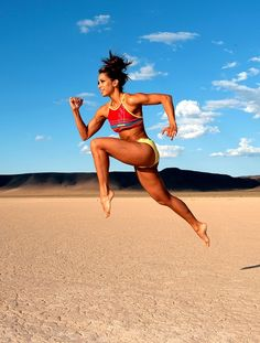 Being able to run a 6 min 30 second mile in the sand would be awesome!
