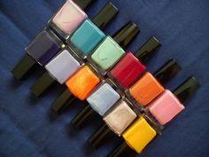 #love #blueshades of #nailpolish? all under £2.50 .... #nailvarnish in #blue #shades #giftides