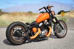 Honda Shadow VT600C bobber, by LNSPLTBLVD/Legion Cycle