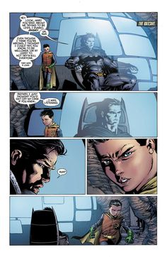 Bruce and Damian