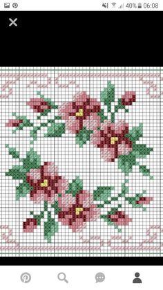 Small Cross Stitch, Cross Stitch Kitchen, Cross Stitch Borders, Cross Stitch Rose, Cross Stitch Flowers, Cross Stitch Designs, Cross Stitching, Cross Stitch Embroidery, Embroidery Patterns