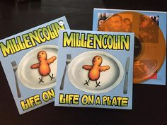 Millencolin's - Life On A Plate. Epitaph Records reissue on transparent orange and transparent yellow sealed. #millencolin #lifeonaplate #record #lp #vinyl #music #punk #punkrock #epitaph #1995 #collector #collection #vinylcollective #nowspinning #recordoftheday by ghettoheater