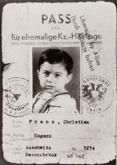 """""""Pass für ehemalige KZ-Häftlinge"""" für Christian Franz (Stiftung niedersächsische Gedenkstätten / Gedenkstätte Bergen-Belsen; Privatbesitz)"""