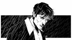 White Man, Black And White, Dylan Dog, Graphic Novel Art, Bd Comics, K2, Manga Drawing, Solomon, Character Design Inspiration