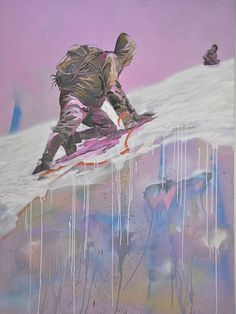 Mountain Pictures, Modern Artists, Affair, Art Gallery, Elephant, Paintings, Mountain Climbers, Painting Art, Art Museum