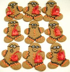 Gingerbread Trick Or Treaters