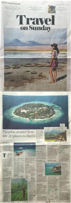 The Sunday Telegraph, 12 November 2017