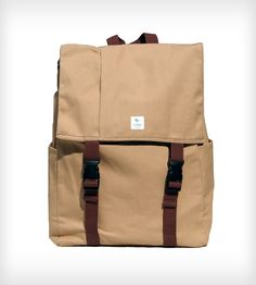 Classic Backpack - Khaki | Every bag sold helps provide education for a child in need.