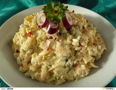 Czech Recipes, Ethnic Recipes, Salad Recipes, Snack Recipes, Hungarian Recipes, What To Cook, Potato Salad, Food To Make, Food And Drink