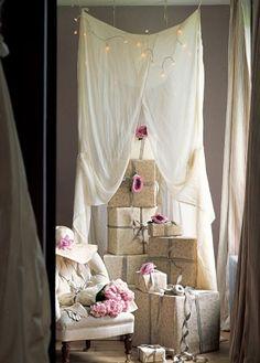 wallpaper as gift wrap