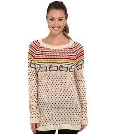 Woolrich Bateau Fairisle Mohair Sweater Wool Cream - 6pm.com