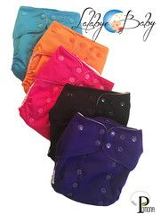 Lalabye Baby One Size Cloth Diapers