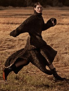 "stormtrooperfashion: "" Giedre Dukauskaite by James Macari for Marie Claire UK, September 2014 """