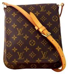 Louis Vuitton Monogram Canvas Shoulder Bag $499.50