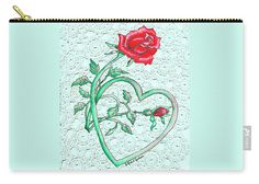 Roses Hearts & Lace Flowers Design