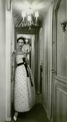 1958 YSL for Christian Dior