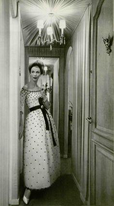 1958 YSL for Christian Dior