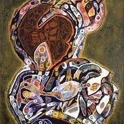 Charles Seliger Orator, 1945 oil on canvas x Courtesy of Michael Rosenfeld Gallery, LLC, New York, NY The Orator, Abstract Art Painting, Art Painting, Oil On Canvas, Abstract Painting, Painting, Art, Charles, Abstract