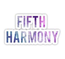 Fifth Harmony galaxy Sticker
