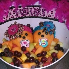 Baby Shower Fruit Salad By
