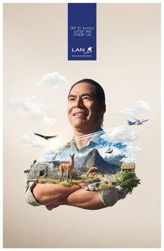 Lan Airlines: Cusco   Ads of the World™
