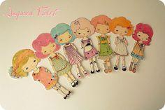 dolls; paper dolls #dolls #paper #art dolls