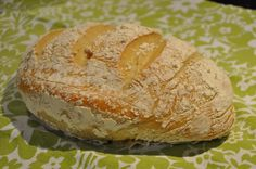 Even though I'm self-admittedly not a baker, I made this amazing loaf of bread with this 5 minute artisan bread recipe. Artisan Bread Recipes, Plastic Food Containers, Butter Ingredients, Stale Bread, Bread Mix, Food Grade, Stuffed Peppers, Eat, Breads