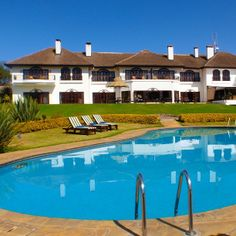 #fairmontmtkenyasafariclub hotel pool #fairmonthotels