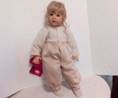 Gotz Doll Amelie by Elizabeth Linder, COA #Gotz