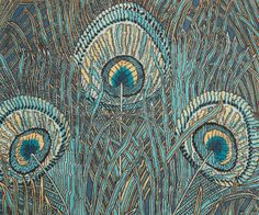 Liberty of London, Turquoise Hera fabric - William Morris,